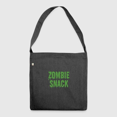 Zombie: Zombie Snack - Skuldertaske af recycling-material