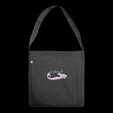 Mermaid / Mermaid: I Believe In Mermaids - Shoulder Bag made from recycled material