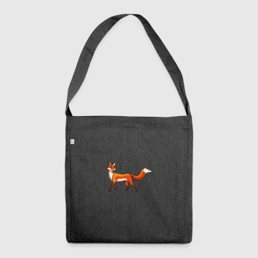 Pretty fox - Shoulder Bag made from recycled material