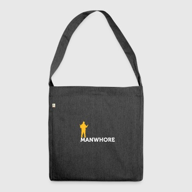 Male Whore! - Shoulder Bag made from recycled material