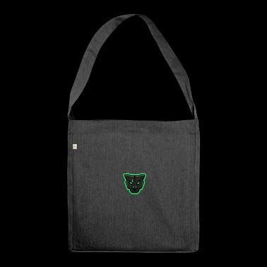 Panther Mascot - Shoulder Bag made from recycled material