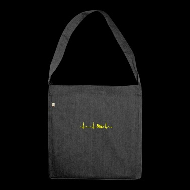 ECG HEATING SWIMMER Yellow - Shoulder Bag made from recycled material