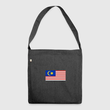 National Flag Of Malaysia - Shoulder Bag made from recycled material