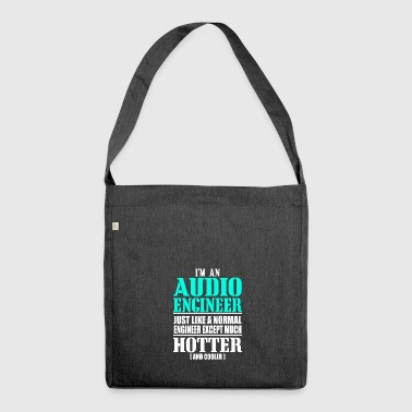 AUDIO ENGINEER - Shoulder Bag made from recycled material