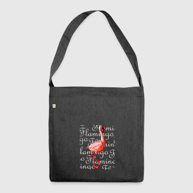 Flamingo Flamingo - Schultertasche aus Recycling-Material