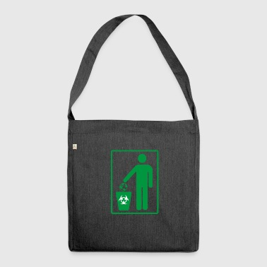 Human Trash Earth - Shoulder Bag made from recycled material