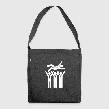 A Stag Party - Shoulder Bag made from recycled material