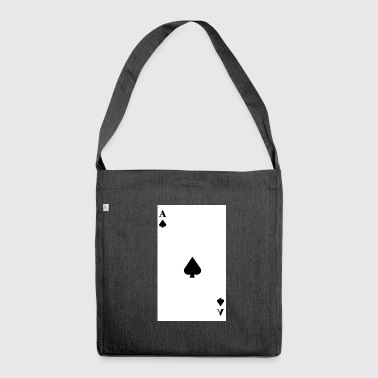 Ace of Spades - Shoulder Bag made from recycled material