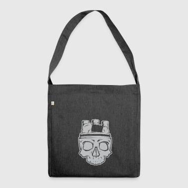 VAPE SKULL - Shoulder Bag made from recycled material