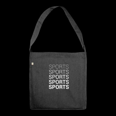 SPORTS - Shoulder Bag made from recycled material