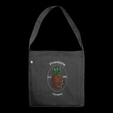 Pineapple pineapple - Shoulder Bag made from recycled material