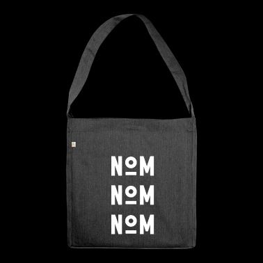 NAME NAME NAME - white - Shoulder Bag made from recycled material