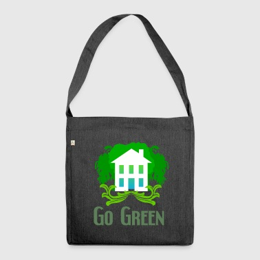 Green ecology - Shoulder Bag made from recycled material