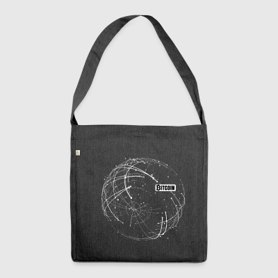 Bitcoin Blockchain - Shoulder Bag made from recycled material