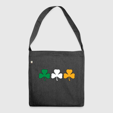 Ireland Shamrock Flag - Shoulder Bag made from recycled material