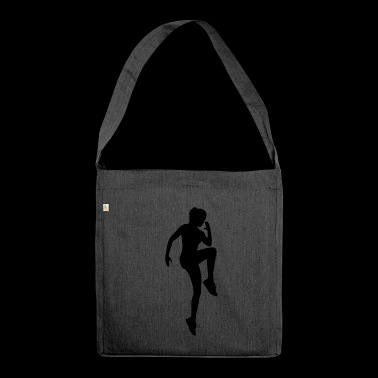 Physical exercise - Shoulder Bag made from recycled material