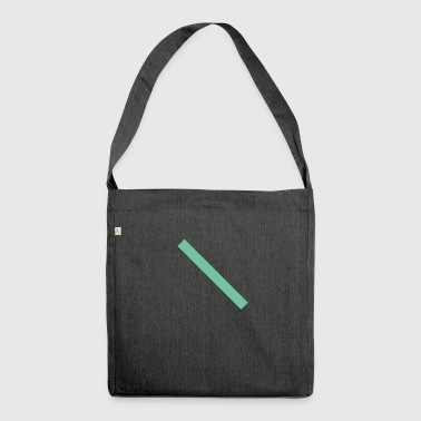 alternativa_salvia - Shoulder Bag made from recycled material