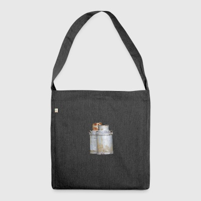 Milch - Schultertasche aus Recycling-Material
