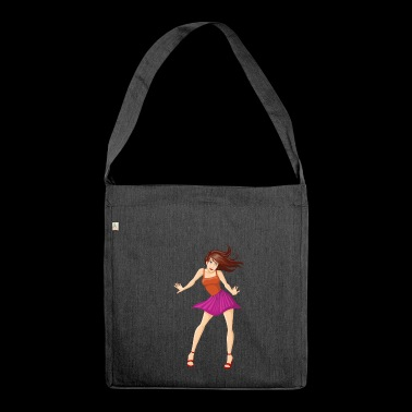 girl girl - Shoulder Bag made from recycled material