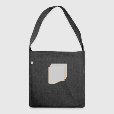 over and over - Shoulder Bag made from recycled material