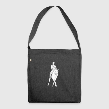 dressage - Shoulder Bag made from recycled material