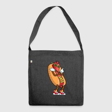 Hot Dog 90 s - Schultertasche aus Recycling-Material