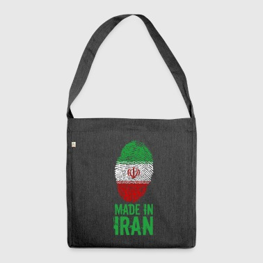 Made in Iran / Gemacht in Iran ايران Īrān Persien - Schultertasche aus Recycling-Material