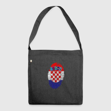 croatia ID - Shoulder Bag made from recycled material