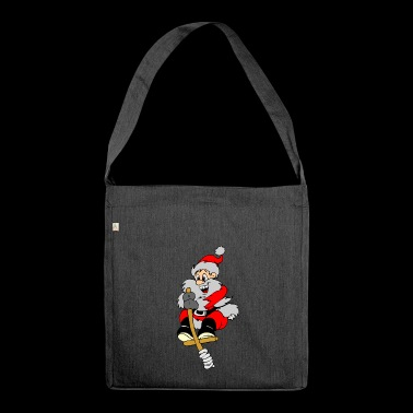 Santa Claus - Shoulder Bag made from recycled material