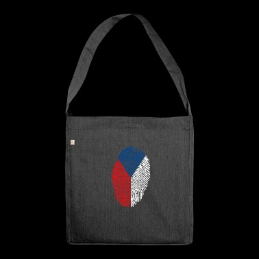 Fingerprint - Czech Republic - Shoulder Bag made from recycled material