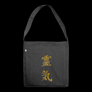 Reiki - Shoulder Bag made from recycled material