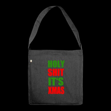Christmas - Shoulder Bag made from recycled material