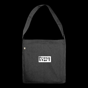 Press Start - Shoulder Bag made from recycled material