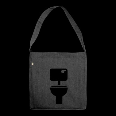 Toilet - Shoulder Bag made from recycled material