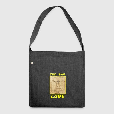 The Dab Code Two Yellow / Yellow Code Dab bis - Shoulder Bag made from recycled material