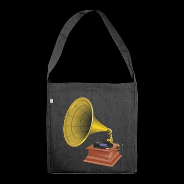 wirbel Gramophone - Schultertasche aus Recycling-Material
