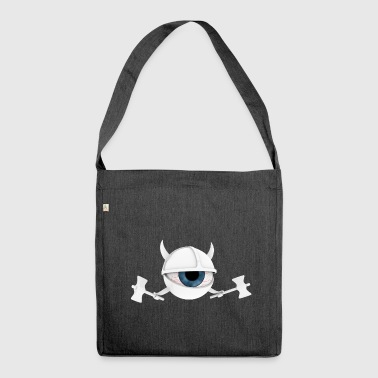 white vEYEking 1 - Shoulder Bag made from recycled material