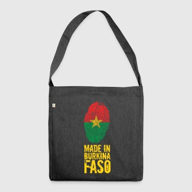 Made in Burkina Faso - Schultertasche aus Recycling-Material