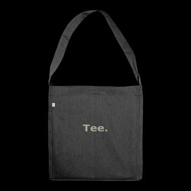 Tee - Schultertasche aus Recycling-Material
