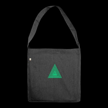 triangles - Shoulder Bag made from recycled material