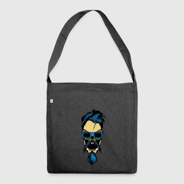head bearded bearded bearded bearded bearded bearded - Shoulder Bag made from recycled material