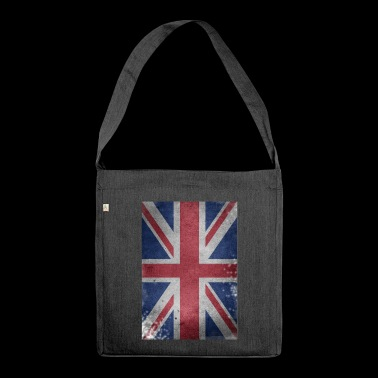England brexit flagge Britain Union Jack U.K. Lond - Schultertasche aus Recycling-Material