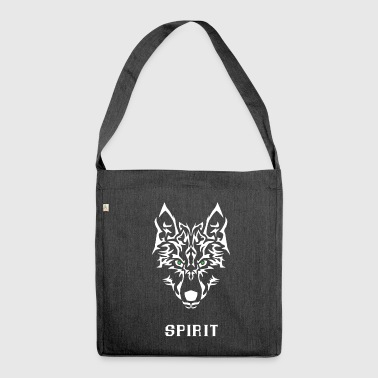 Wolf Spirit. * Best-seller* - Sac bandoulière 100 % recyclé