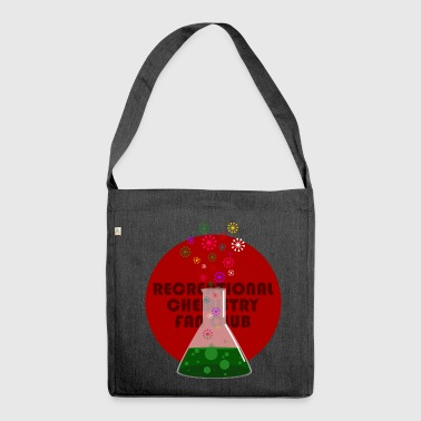 Recreational Chemistry Fan Club (red) - Shoulder Bag made from recycled material