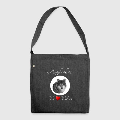 We Love Wolves - Shoulder Bag made from recycled material