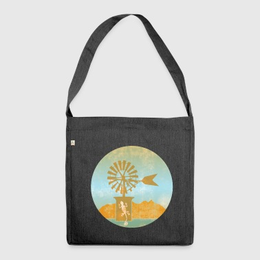 Windmill - Balearic Islands - Shoulder Bag made from recycled material