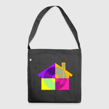Musica house - Borsa in materiale riciclato