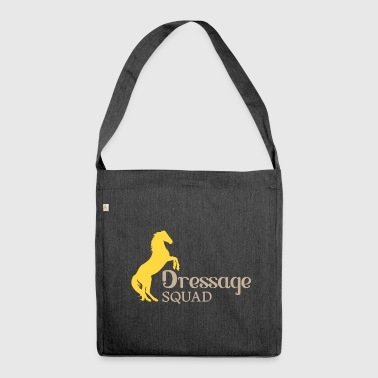 Dressage Squad - Dressage horse riding tournament - Shoulder Bag made from recycled material