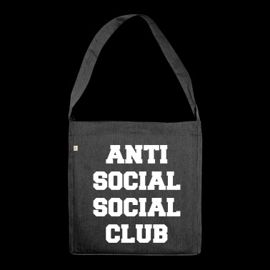 Anti social social club - Shoulder Bag made from recycled material