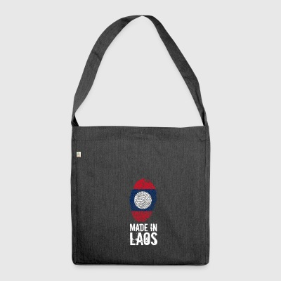 Made In Laos / ປະເທດລາວ - Schultertasche aus Recycling-Material